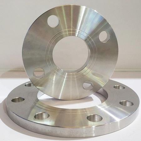 JIS 10k 80a 316L Stainless Steel Flat Welding Flange SOP Plate Flange Featured Image