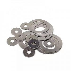 stainless steel sealing thin flat shim washer DIN988