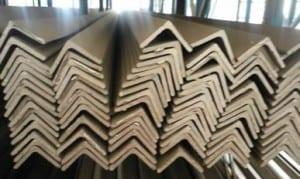 rustfrit stål vinkel bar lige
